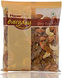 Hypercity Everyday Dry Fruits - Mix, 200g Pack