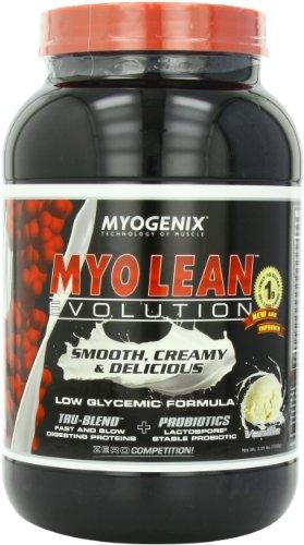 Myogenix Myo-Lean Evolution, Vanilla, 2.31-Pound Bottle