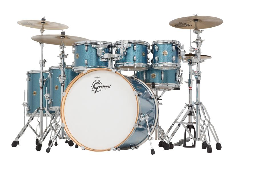 Amazon.com: Gretsch Drums Catalina Maple CM1-E826P-AS 6-Piece Drum