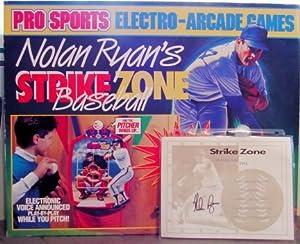 "Nolan Ryan's - ""Strike Zone Baseball"" Electro Arcade game"