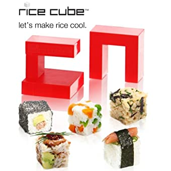 Rice Cube. Let's Make Rice Cool