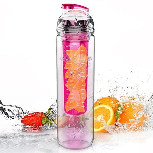 Trinkflasche für Fruchtschorlen, 800 ml, Tritan