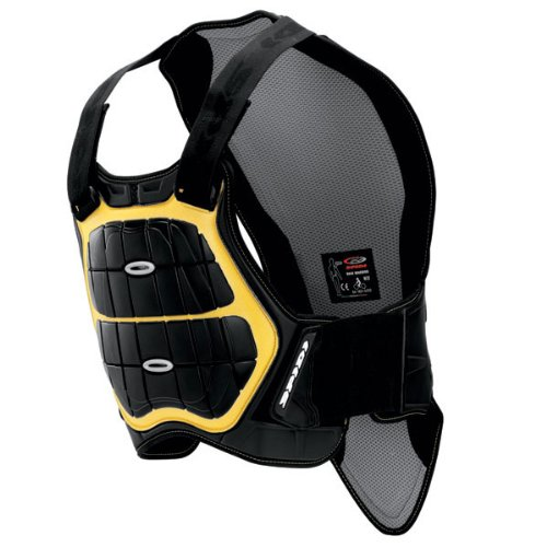 Spidi Defender Z121-016  Back and Chest Protectors 170-180 Black / Yellow Size M