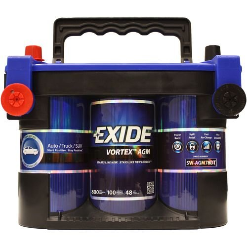Exide SW-AGM75DT Vortex Spiral Wound AGM Battery