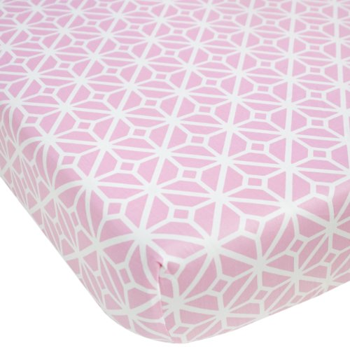 CoCaLo Mix & Match Lattice Fitted Sheet, Audrey