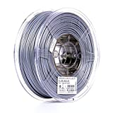eSUN 3mm Silver PLA PRO (PLA+) 3D Printer Filament 1KG Spool (2.2lbs), Actual Diameter 2.85mm +/- 0.05mm, Silver