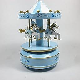 YONG Carousel music box birthday gift ornaments