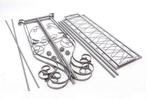 Decorative Grey Steel Iron Garment Coat Rack (Y009D) 6