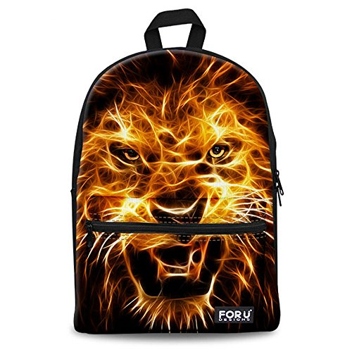 Animal Face School Bags