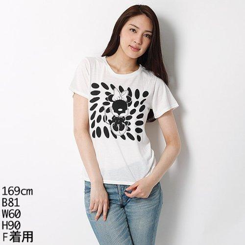 ムルーア(MURUA) Tシャツ(ミニーT-SH )【ホワイト/F】