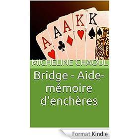 Bridge - Aide-m�moire d'ench�res