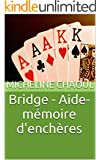 Bridge - Aide-m�moire d'ench�res