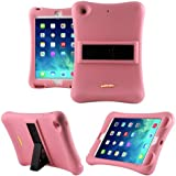 iPad Mini Case, Anitoon Amplifier Speaker iPad Mini Case [Fits iPad Mini 3/2/1 Generations] PINK Cover With Armor Body