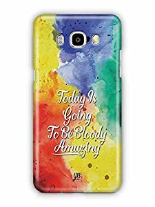 YuBingo Today's going to be bloody amazing Designer Mobile Case Back Cover for Samsung Galaxy J5 2016