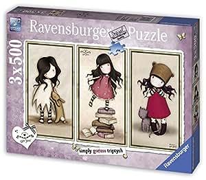 Ravensburger - 16271 - Puzzle  - Simply Gorjuss Triptych - 3 x 500 pièces