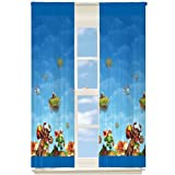 Skylanders Room Darkening Window Curtain Panel Drape