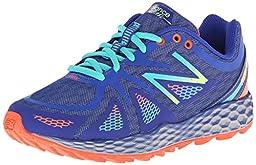 New Balance Women\'s WT980 Fresh Foam Trail Shoe, Blue/Green, 7.5 B US