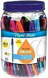 Papermate Inkjoy 100 CAP Stylo à bille Couleurs Assorties- Pochette de 50