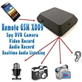 Boddban® Hidden Spy GSM Bug Voice & Video Recorder / Sim Card Voice Ear Bug / Room Voice Listening Device & Video Camera Recording