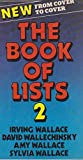 Book of Lists: v. 2 (0241104335) by Wallace, Irving
