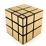 ShengShou 3 x 3 Gold Mirror Cube Puzzle