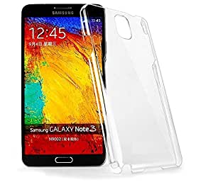 Galaxy Note 3 N9000 Transparent Case, DR CHEN Hard Crystal Case Transparent case Back Cover for Samsung Galaxy Note 3 N9000 (Transparent) Anti Yellow Series