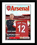 Arsenal FC Personalised Magazine Cover