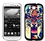 Tiger Roar Cross Hipster Quote Samsung Galaxy S3 SIII i9300 Case Fits Samsung Galaxy S3 SIII i9300
