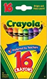 Crayola Classic Color Pack Crayons, 16 Colors Box (52-3016)