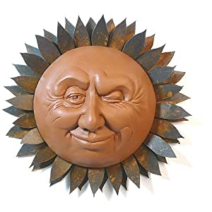 Outdoor Decor Sun Faces | Interior Decorating Tips