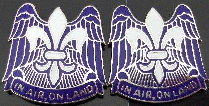 82nd Airborne Division Distinctive Unit Insignia - Pair