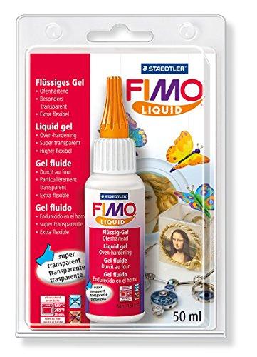 Staedtler - Fimo liquid - Flacon 50 ml Gel Fluide Transparent - Sous Blister