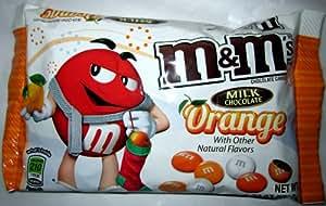Mars, M&M's, Orange Flavored Milk Chocolates, 9.9oz Bag