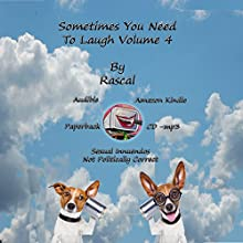 Sometimes You Need to Laugh, Volume 4 Audiobook by  Rascal Narrated by Paul Christy