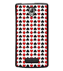 Vizagbeats Cards Symbols Back Case Cover for LENOVO A2010