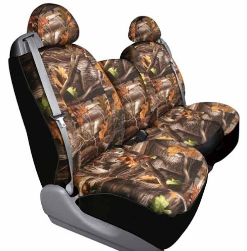 Saddleman Front Bucket Custom Made Seat Covers - Polyester Fabric (Camouflage) by Saddleman