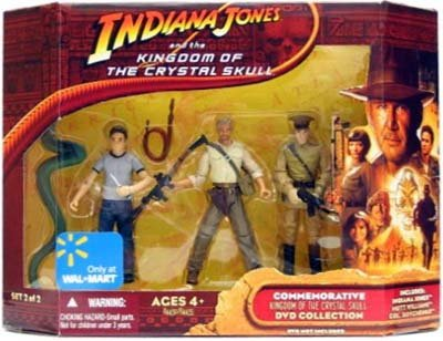Picture of Hasbro Indiana Jones and the Kingdom of the Crystal Skull Commemorative DVD Collection Action Figures Set #2 of 2 (B001J9QIT8) (Hasbro Action Figures)