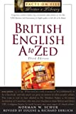 British English A to Zed (Facts on File Writer's Library)