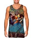 "Edgar Degas - ""Dancers in Blue"" (1895) -Tagless- Mens Tank Top -3X"