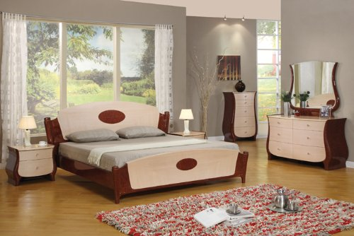 Buy Pearl Mahogany Queen Size Bedroom Furniture Set Best Price Now Ashley Bedroom Sets Read