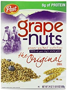 Post Grape-Nuts Cereal, 24-Ounce Boxes (Pack of 4)