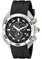 Sector Men's Watch R3271670125 In Collection Ocean Master With Black Dial & Black Colour Silicone Strap