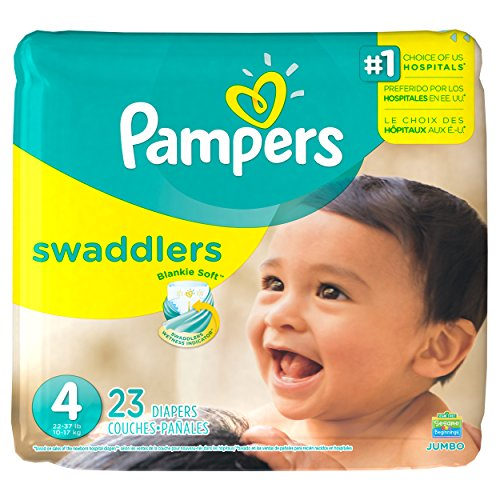 Pampers Swaddlers Diapers Size 4 23 count - 1