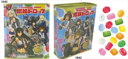 艦隊これくしょん-艦これ- 艦娘ドロップ (食玩・キャンディ) 80g×1缶
