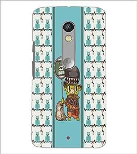 PrintDhaba Cartoon D-4316 Back Case Cover for MOTOROLA MOTO X PLAY (Multi-Coloured)