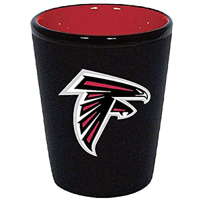 Atlanta Falcons 1.5 Oz Two-Tone Ceramic Shot Glass
