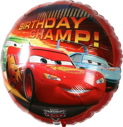 Disney Cars Happy Birthday Champ Mylar Balloon