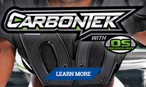 Russell Athletic CarbonTek Shoulder Pads