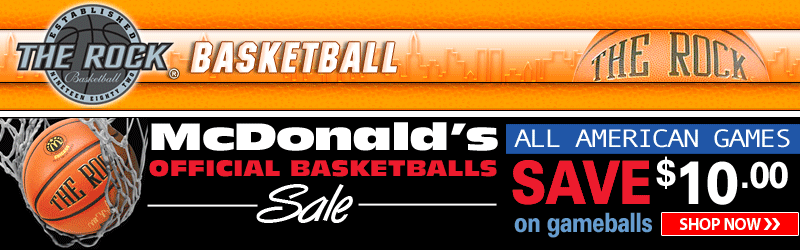 Save $10 on Official Mcdonalds All American Games Official Basketballs!