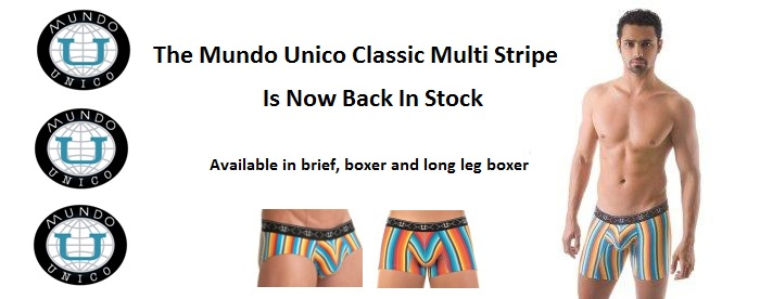 classic muti stripe now back in stock